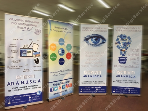 espositori ROLL UP 80x200 napoli