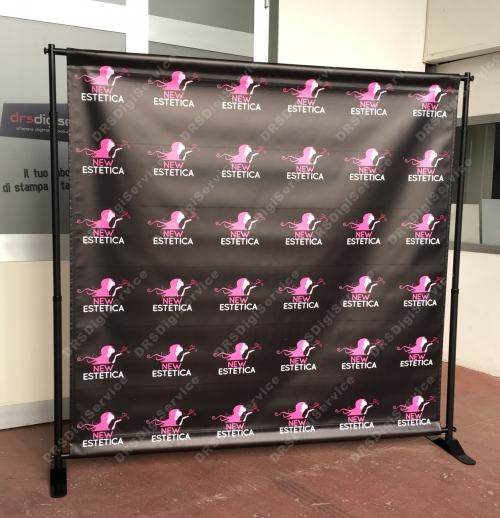 MAXI DISPLAY BANNER 200x200 mt
