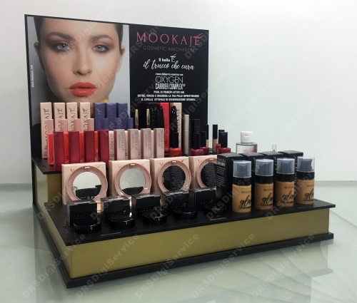 Espositore da banco per Make Up 2 ripiani