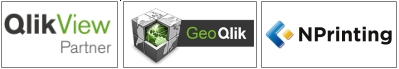 QlikView, GeoQlik, NPrinting - i marchi che commercializziamo